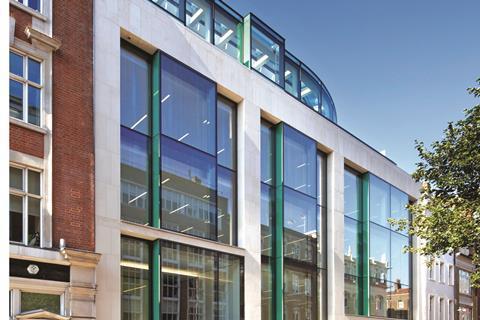 Wilkinson Eyre Soho office building